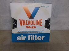 VALVOLINE VA24  AIR FILTER BLACK - NEW OLD STOCK Fits Ford 460 429 428 390