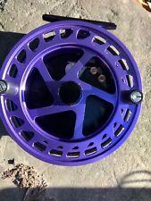 """Raven Helix Centerpin Float Reel, 4 1/2"""" Purple / Black , Great Buy!"""