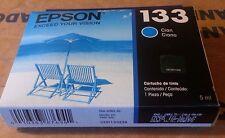 T133220 Genuine Epson T133 Cyan Inkjet Cartrdge Stylus T22/TX120/TX320F