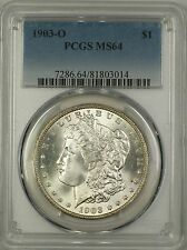 1903-O Morgan Silver Dollar $1 PCGS MS-64 (Better Coin) (14)