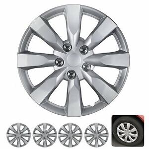 "16"" Hubcaps for Car Accessories Wheel Covers Replacement Tire Rim Replica 4-Pack"