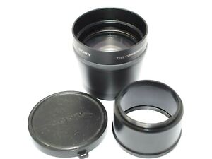 Sony VCL-DH1758 Tele Conversion Lens for Sony DSCH1/H2 & H5 Cameras