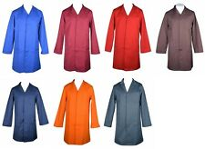 Unisex Lab Coat Healthcare Doctor Workwear Medical Science Multi Colours