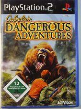 PLAYSTATION PS2 GIOCO Cabela s ´s Dangerous Adventures, usato ma BENE