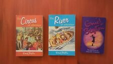 The Circus of Adventure, The River of adventure, and Malory Towers - Enid Blyton