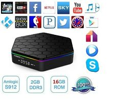 T95Z Plus 4K Smart TV Box S912 Octa core Android 6.0 2G+16G 2.4G/5G Wifi 1000M