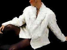 Laurèl Ziegenfelljacke Jacke Ziege Pelzjacke Pelz goat fur jacket HELL modern