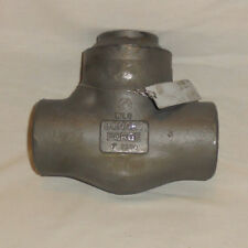 BONNEY FORGE 25W-41-SW FORGED STEEL PISTON WELDED BONNET CHECK VALVE, 1""