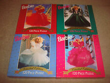 Barbie SEALED Puzzle LOT NEW Limited Edition Doll 1988 1989 1990 1991 Vintage