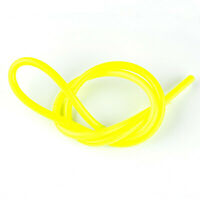"For 1/4"" 1m Fuel Air Silicone Vacuum Hose Gasoline Diesel Line Tube Pipe Yellow"