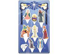 Anniversary House Christmas Nativity Scene Cake Topper Kit Decorations