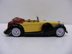 Matchbox Models Of Yesteryear Y11 1938 Lagonda Tan