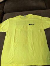 United Rentals Jerzees Dri-Power Active T-shirt, Yellow, Size L