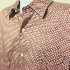 Lot of 8 Button Front Shirts Short Sleeve Mens Size 2XL XXL