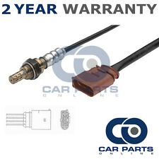 FOR VOLKSWAGEN POLO MK6 1.2 6V 2004-09 4 WIRE REAR LAMBDA OXYGEN SENSOR EXHAUST