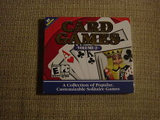 Cosmic Card Games Volume 2 (PC, 2000)  Rated E for Everyone   NEW