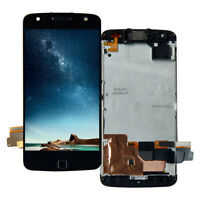 For Motorola Moto Z Force XT1650-02 Verizon LCD Display Touch Screen Front Frame