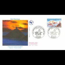 FDC JF - Les îles Sanguinaires (Corse), oblit Ajaccio 1/6/96