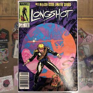 Longshot #1 1985 Marvel Comics Newsstand Please See Pics