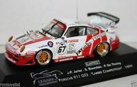 ONYX 1/43 SCALE - XLM99027 - PORSCHE 911 GT2 LABRE COMP 1999 JARIER BOURDAIS