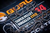 Guru Super Pellet Waggler Eyed Barbless Hooks x3 Packs *New* - Free Delivery