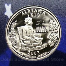 2003-S Alabama State Quarter - Gem Proof Deep Cameo (Clad)