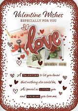 ESPECIALLY FOR YOU ~ LARGE Quality VALENTINE'S Day Card Valentines Love Design