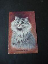 Louis Wain postcard, Faulkner Series 507, Chinchilla Persian