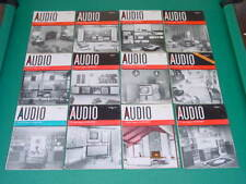 1960 Audio Magazines, Complete Year, 12 Issues