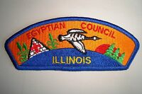 OA EGYPTIAN COUNCIL SHOULDER PATCH CSP WHITE BIRD ILLINOIS SERVICE FLAP