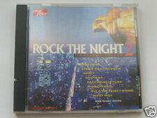 "CD VARIOUS ARTISTS, ""ROCK THE NIGHT 2""  15 TITRES, TRES BON ETAT"