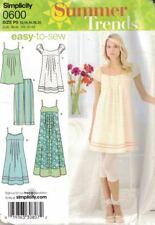 Simplicity Misses & Petite Dress 3 Lengths Tunic & Leggings #0600 Size 12 - 20