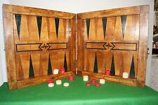 1800's South German Chess/Backgammon/Muhle board,antique