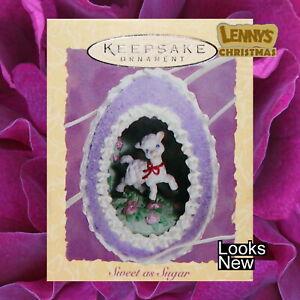 Hallmark Ornament, Easter, 1994 Sweet as Sugar, Looks New