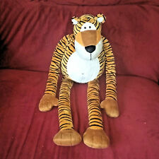 Princess Soft Toys TIGER Soft Orange Black Long legged 26in Plush Melissa & Doug