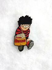 p/&p Beano character Bea pin lapel badge free u.k