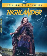 HIGHLANDER : 30th Anniversary Edition - BLU RAY - Region A - Sealed