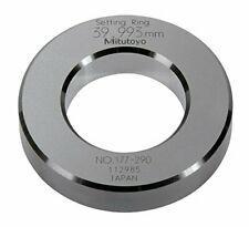 Mitutoyo 177 290 Setting Ring 40mm Size 15mm Outside Diameter 15micrometer