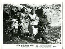 SNOW WHITE AND ROSE RED-1950'S-FN-8X10 STILL-FANTASY-SEEHOFER-HERION-DWARF FN