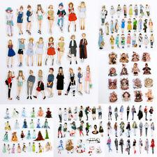 16-30x/bolsa de moda niñas adhesivo papel pegatina DIY diario Scrapbook*ws