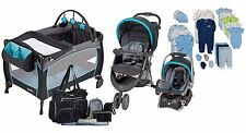 New Baby Stroller Car Seat, Newborn Toddler Playard,Infant Clothes Diaper Bag