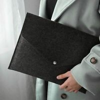 New Capacity Document Bag Business Brief Case File Folders Felt Filing Products