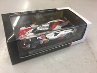 TOYOTA TS050 #7 2018 2ND PLACE LE MANS BY SPARK TY131432-NEW- FREE UK SHIP