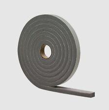 "02279 M-D Gray Foam WEATHER STRIP TAPE Adhesive Draft Gap Seal 1/4""x 1/2"" x 17'"
