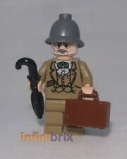 Lego Henry Jones Sr. from sets 7198 + 7620 Indiana Jones BRAND NEW iaj002