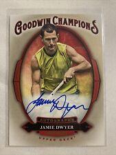 2020 Upper Deck Goodwin Champions Jamie Dwyer Auto On Card #A-DW
