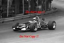 Piers Courage Frank Williams Brabham BT26A Grand Prix de Monaco 1969 PHOTO 1