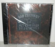 CD BAD COMPANY - STORIES TOLD & UNTOLD - NUOVO NEW