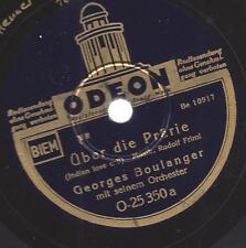Georges Boulanger Orchester : Il Bacio + Über die Pfärie