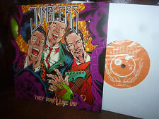 "Jumblers, They Don't Like Us ! Rockabilly, Mellory  EP, 7"" 1988"